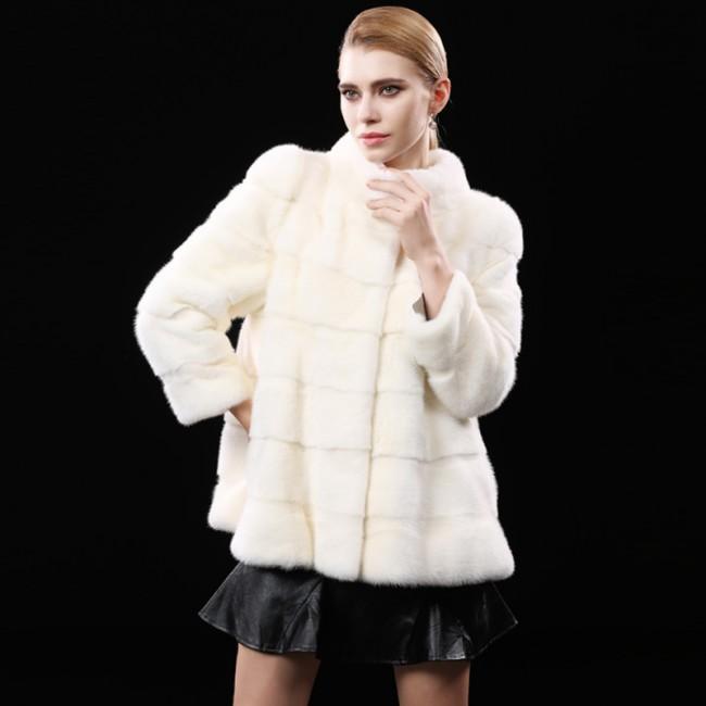 Whole Mink Fur Coats Short Length